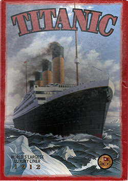 Front/Top of Titanic Poster 550-Piece Jigsaw Puzzle