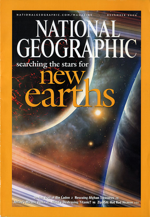 Front Cover, National Geographic Magazine for December 2004