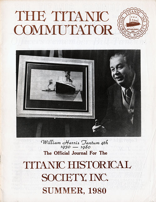 The Titanic Commutator, Summer, 1980