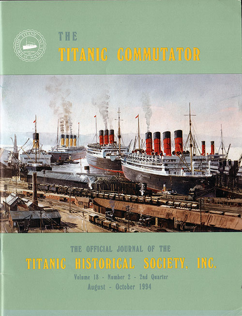 Titanic Mummy Legend - Titanic Commutator - 1994 2nd Quarter