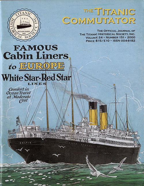Titanic Commutator November 2000, Front Cover