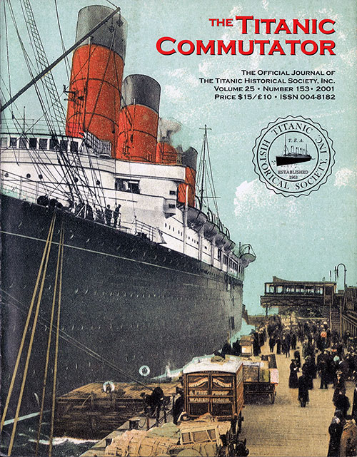 The Titanic Commutator, Volume 25, Number 153, Quarterly Journal
