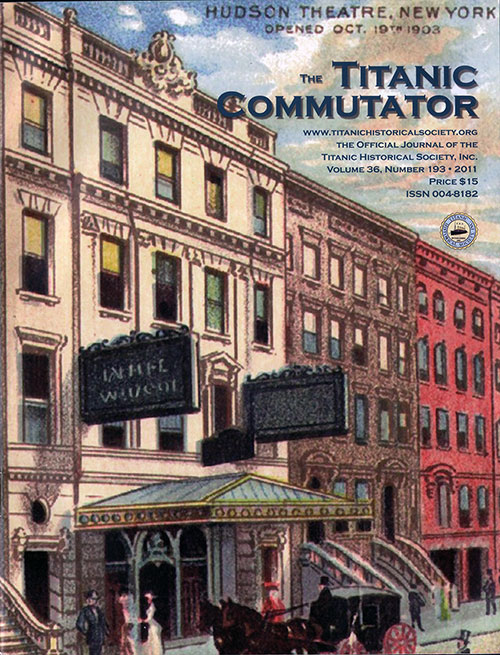 The Titanic Commutator, Volume 36, Number 193, Quarterly Journal