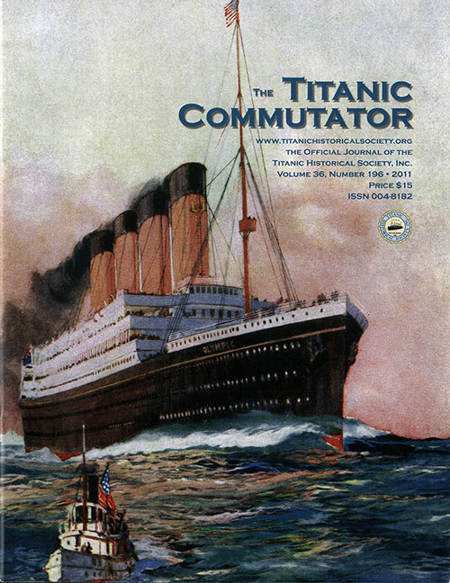 Front Cover, The Titanic Commutator, 4th Quarter 2011