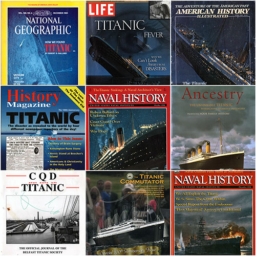 GG Archives Titanic Magazine Collage - 2019