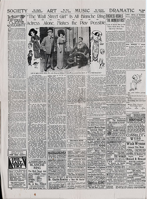 Page 10 of the New York American, 17 April 1912 - Society and Entertainment News.