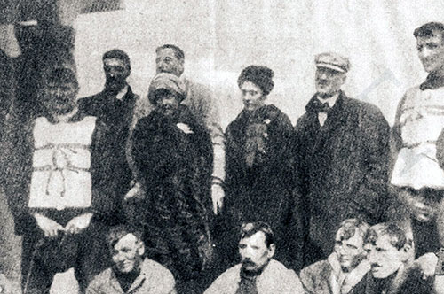 Survivors of the Titanic and Occupants of Lifeboat 1 Rescued by the Carpathia.