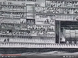 Video: Posted Aboard the RMS Titanic. A Graphic Showing the Location of the Postal Mail Room on the Ship.