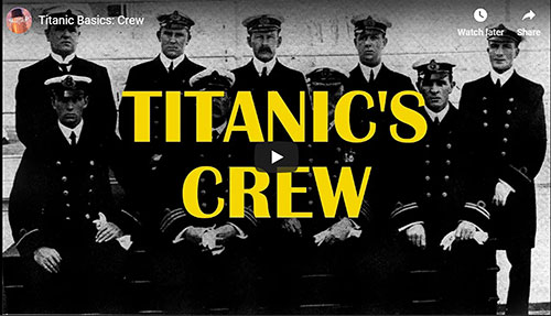 Video Hero Image: Titanic's Crew posted by Titanic Honor & Glory, October 2018.