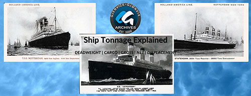 Ship Tonnage Explained - Displacement, Deadweight, Cargo, Gross, Etc.
