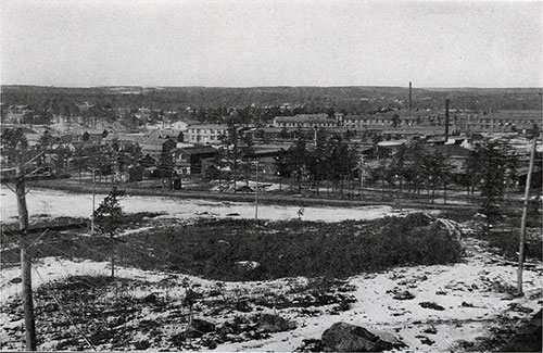 Looking North from Boulder Hill - Baldwin's And the 301st Light Field Infantry.