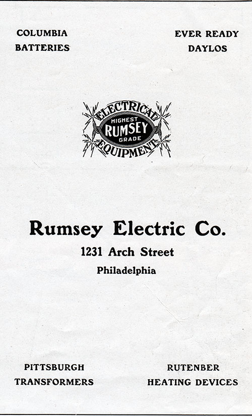Ad - Rumsey Electric Company