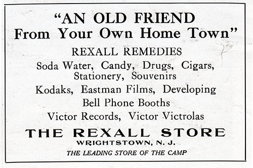 Ad - The Rexall Store