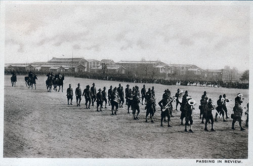 Photo 11: Soldiers Passing in Review