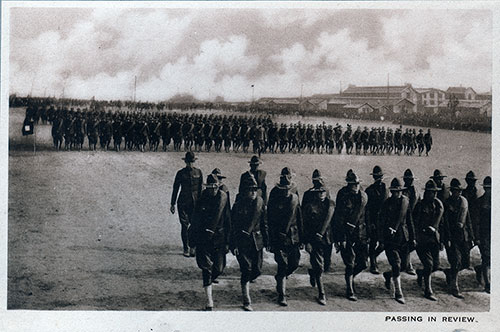 Photo 12: Soldiers Passing in Review