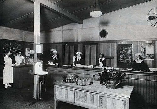 Cafeteria at the Hostess House