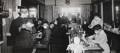 Hostess House During the Flu Epidemic