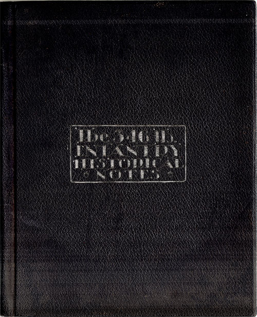 The 346th Infantry Historical Notes 1917 - 1919
