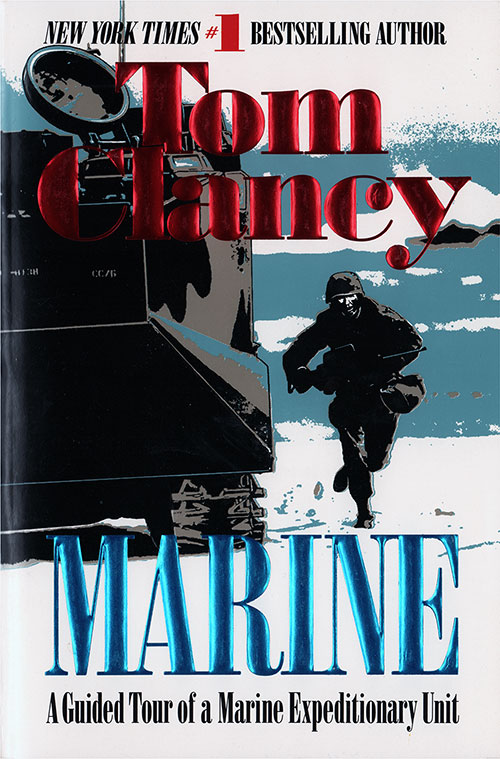 Front Cover, Marine: Guided Tour - Marine Expeditionary Unit - 1996 - ISBN 0425154548.
