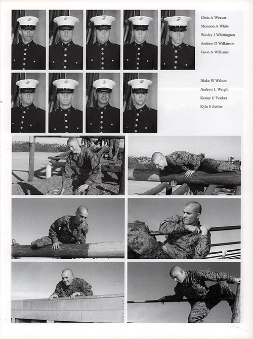 Platoon 2006-1075 MCRD San Diego Recruits, Page 6.