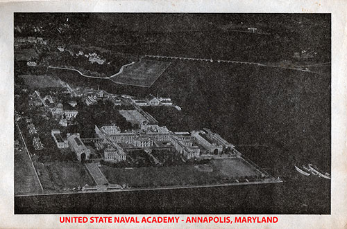 View of the United States Naval Academy