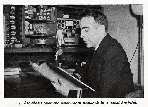 broadcast over the inter-room network