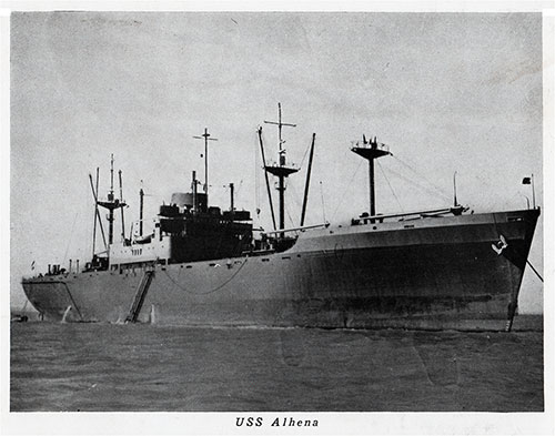 USS Alhena (AKA-9) was an attack cargo ship named after Alhena, a star in the constellation Gemini.