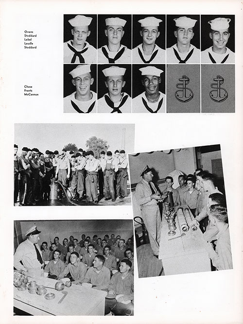 Company 56-069 Bainbridge NTC Recruits, Page 3.