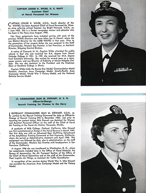 Company 54-23W Commanding Officers, Page 1.
