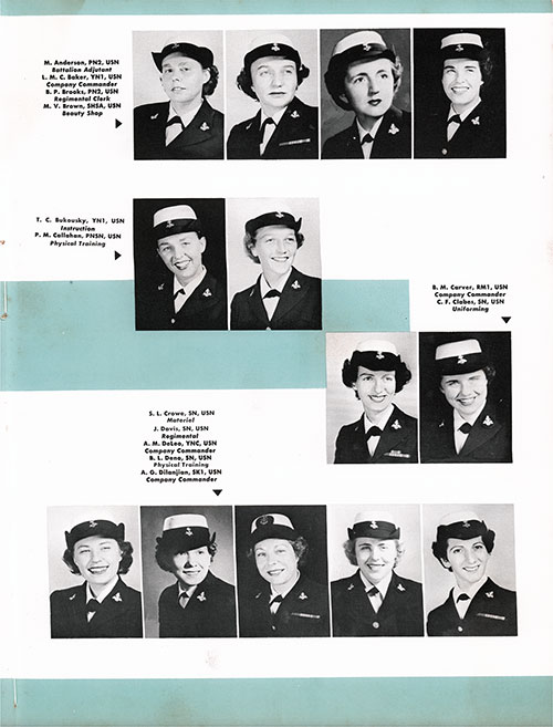 Company 54-23W Non-Commissioned Officers, Page 3.