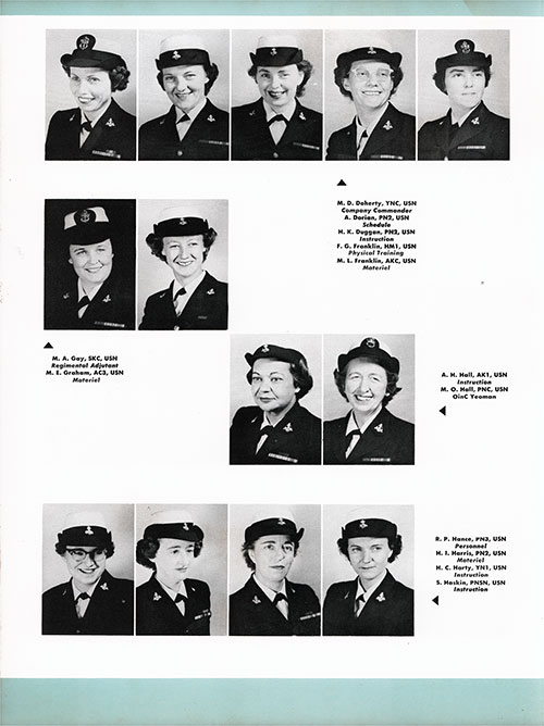 Company 54-23W Non-Commissioned Officers, Page 4.