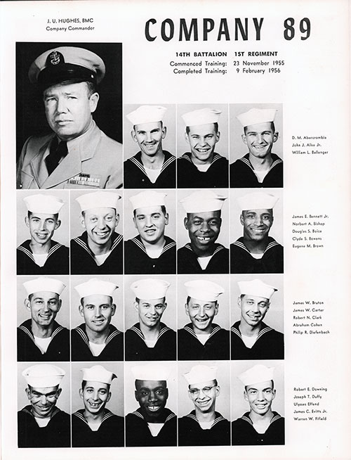 Company 56-069 Bainbridge NTC Recruits, Page 1