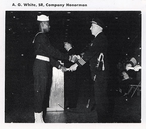 Company 56-069 Bainbridge NTC Recruit Honorman, A. G. White, SR