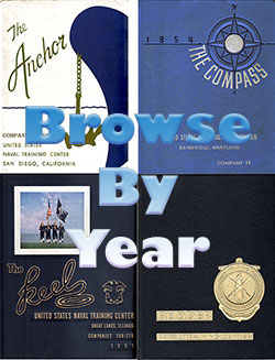 Browse Navy Boot Camp Graduation Books by Year