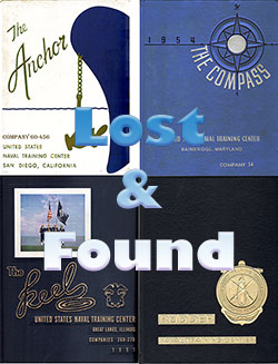 Finding United States Navy Boot Camp Graduation Books