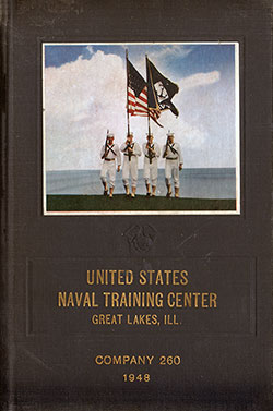 "Front Cover, Great Lakes USNTC ""The Keel"" 1948 Company 260"