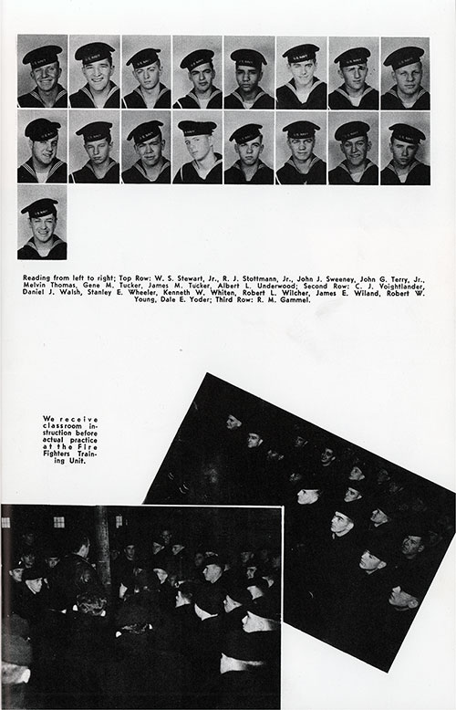 Company 48-463 Great Lakes NTC Recruits, Page 3.