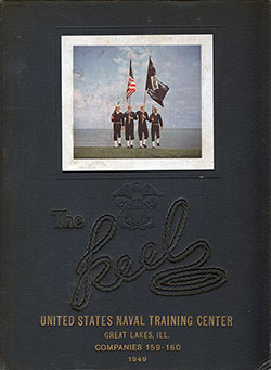 "Front Cover, Great Lakes USNTC ""The Keel"" 1949 Company 159"