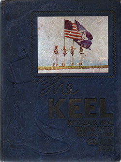Front Cover, Navy Boot Camp 1951 Company 622 The Keel