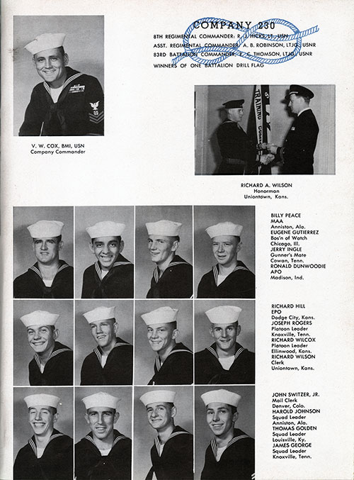 Company 54-230 Recruits, Page 1
