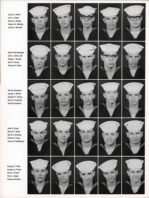 Company 66-257 Great Lakes NTC Recruits, Page 2.
