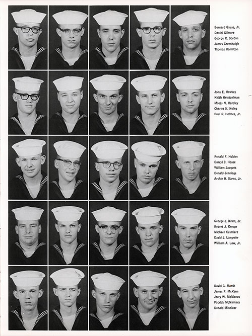 Company 66-257 Great Lakes NTC Recruits, Page 3.
