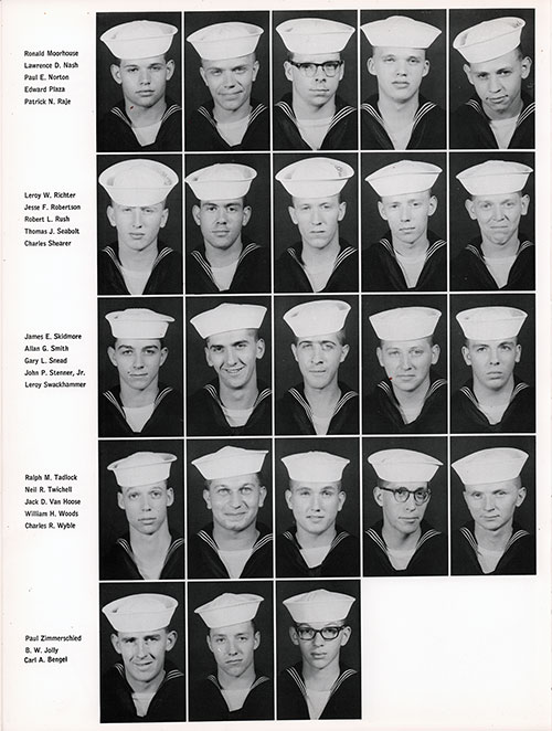 Company 66-257 Great Lakes NTC Recruits, Page 4.