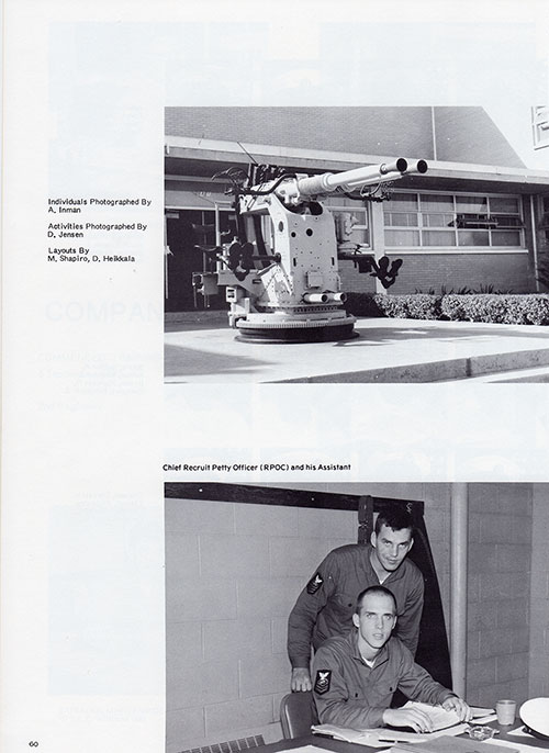 Company 73-313 Yearbook Credits, Page 6