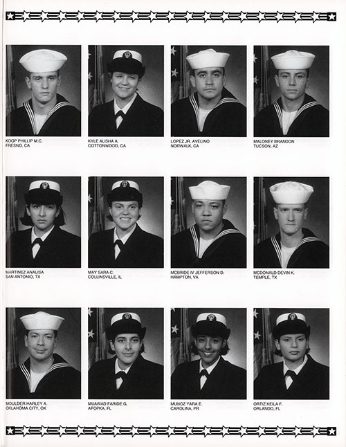 Division 02-129 Great Lakes NTC Recruits, Page 8.