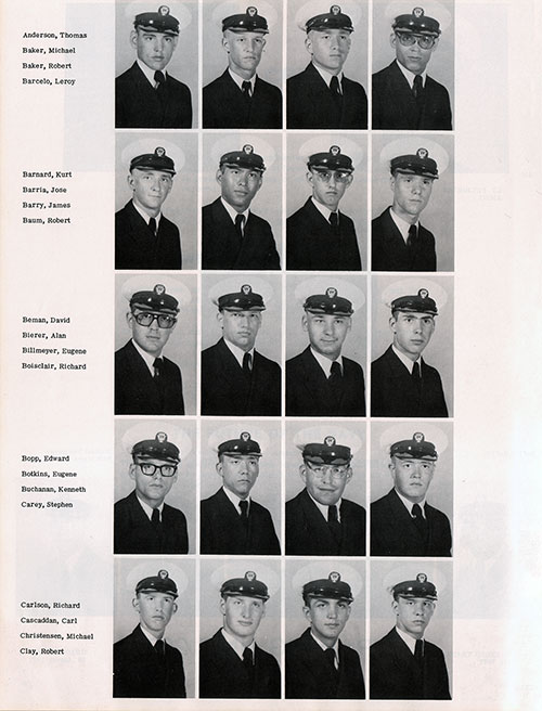 Recruits, Page 1, Navy Boot Camp Yearbook 1977 Training Unit 269