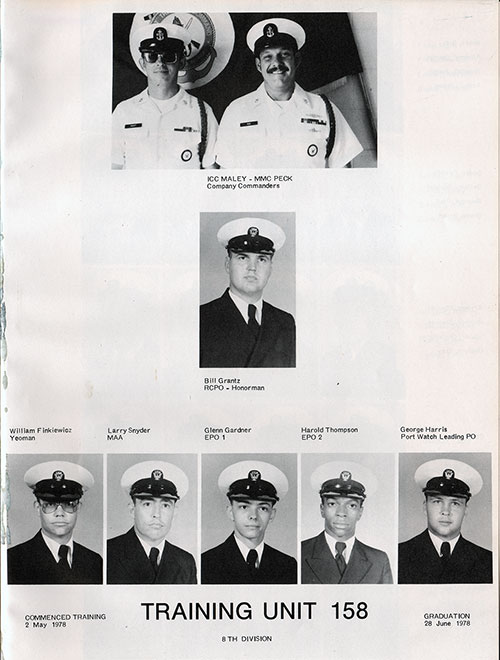 Company 78-158 Recruits, Page 1