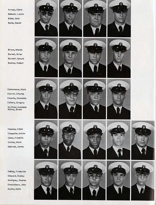 Recruits, Page 1, Navy Boot Camp Yearbook 1978 Training Unit 201