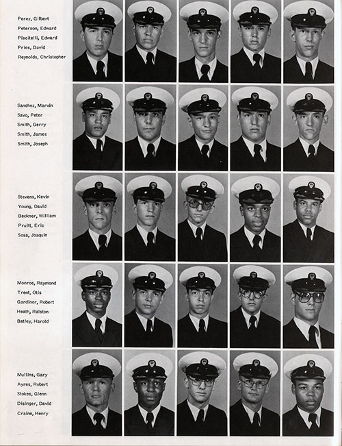 Recruits, Page 3, Navy Boot Camp Yearbook 1978 Training Unit 201