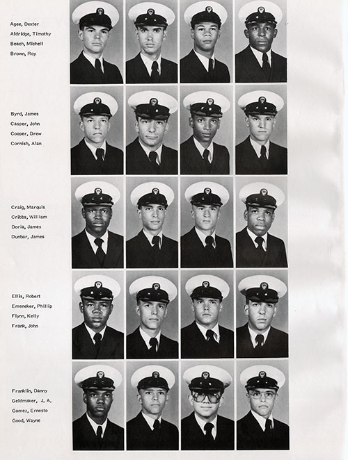 Recruits, Page 1, Navy Boot Camp Yearbook 1979 Training Unit 145